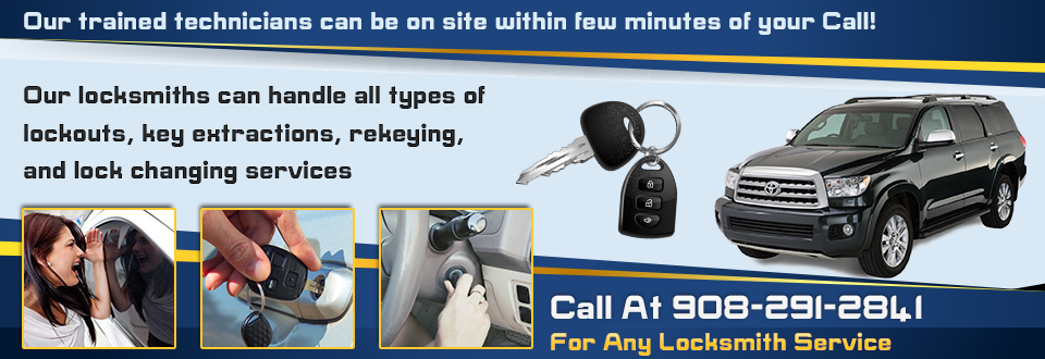 Automotive Locksmith Mountainside NJ